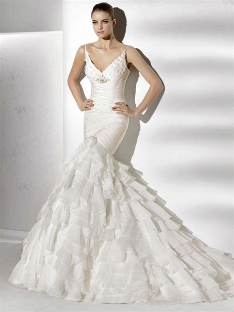 Mermaid Wedding Dresses   DressedUpGirl.com