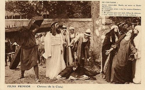 Christus (1916) towards Mount Calvary and the Crucifixion