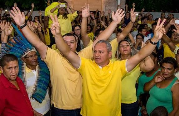 Paulo Sergio renunciou da disputa e substituiu candidatura pelo nome do filho, Serginho.