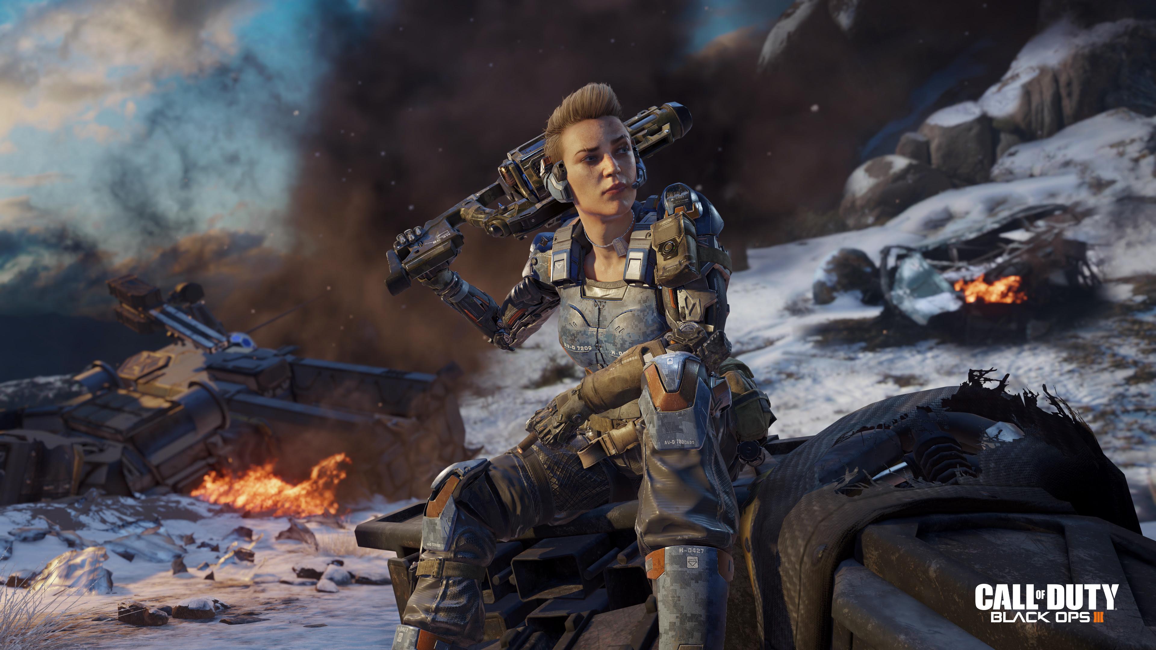 Call of Duty: Black Ops 3 Gets a New Set of 4K Screenshots ...