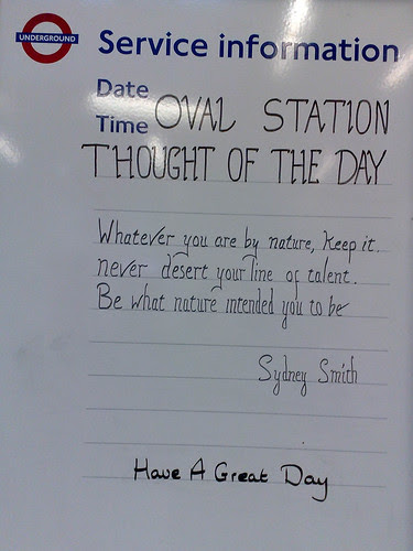 Thought of the Day by secretlondon123