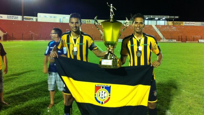 Rondonópolis campeão da Copa Mato Grosso (Foto: Assessoria/FMF)