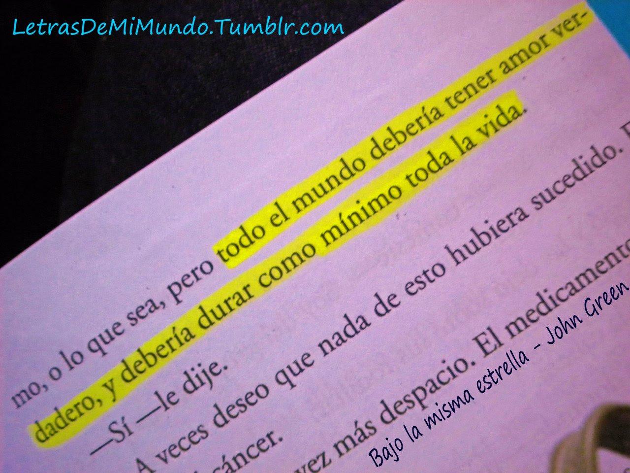 Frases De Amor Verdadero Tumblr