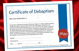 There is growing interest in the concept of debaptism.