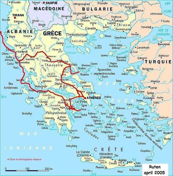kort grækenland GræSk Kort | Kort 2019