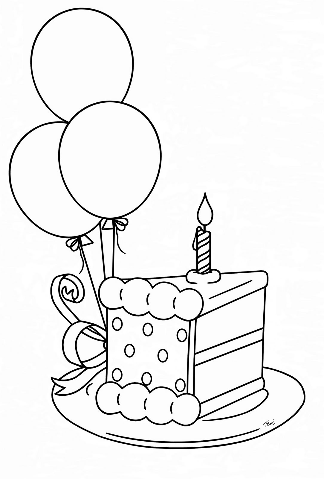 Birthday Cake Slices Free Svg Cut Files  Clipart