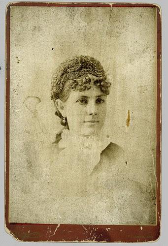 Girl in portrait