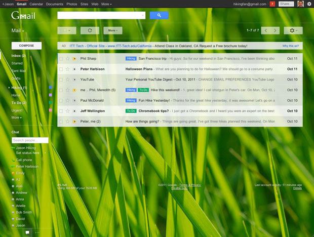 Google mosra a nova interface do Gmail (Foto: Divulgação)