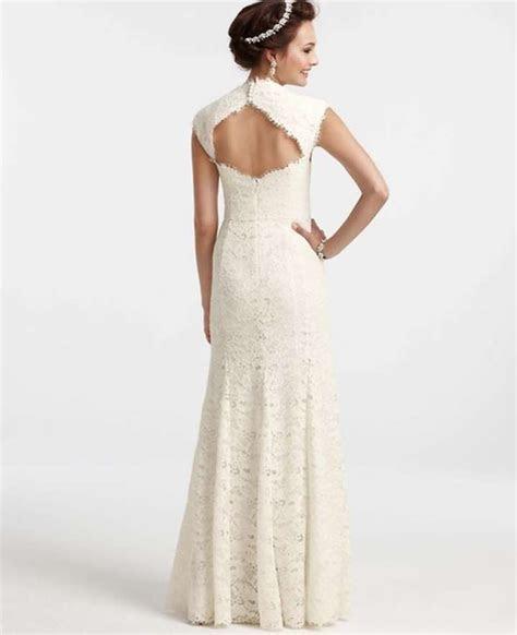 Ann Taylor Isabella Lace Dress Wedding Dress