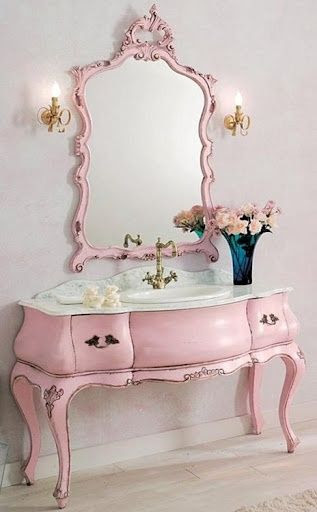 Bebe'!!! Perfect for a pink bathroom!!!