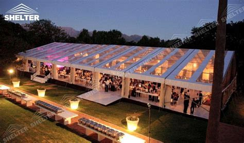 Clear Top Tent   Party Marquee   Luxury Wedding Tent House