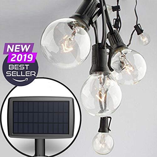 Amazon Com Patio Umbrella Solar Lights
