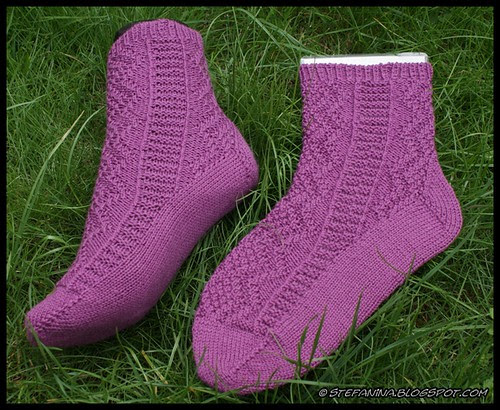 Kinsale socks - finished