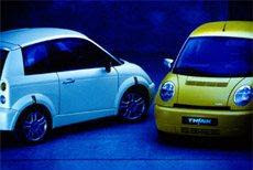 Two Think City cars