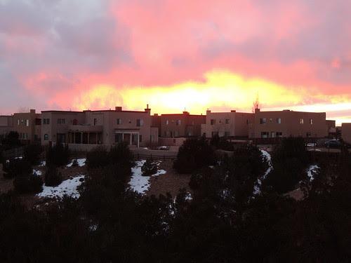 Sunset over the Neighborhood