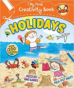 Vacation: Creative Play, Fold-out Pages, Puzzles and Games, Over 200 Stickers!