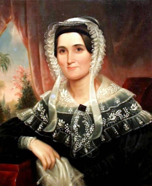 Portrait Of A Southern Lady (Lucie Harvie Hull of Athens, Georgia)
