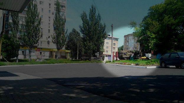 Бук по пути из Донецка на восток