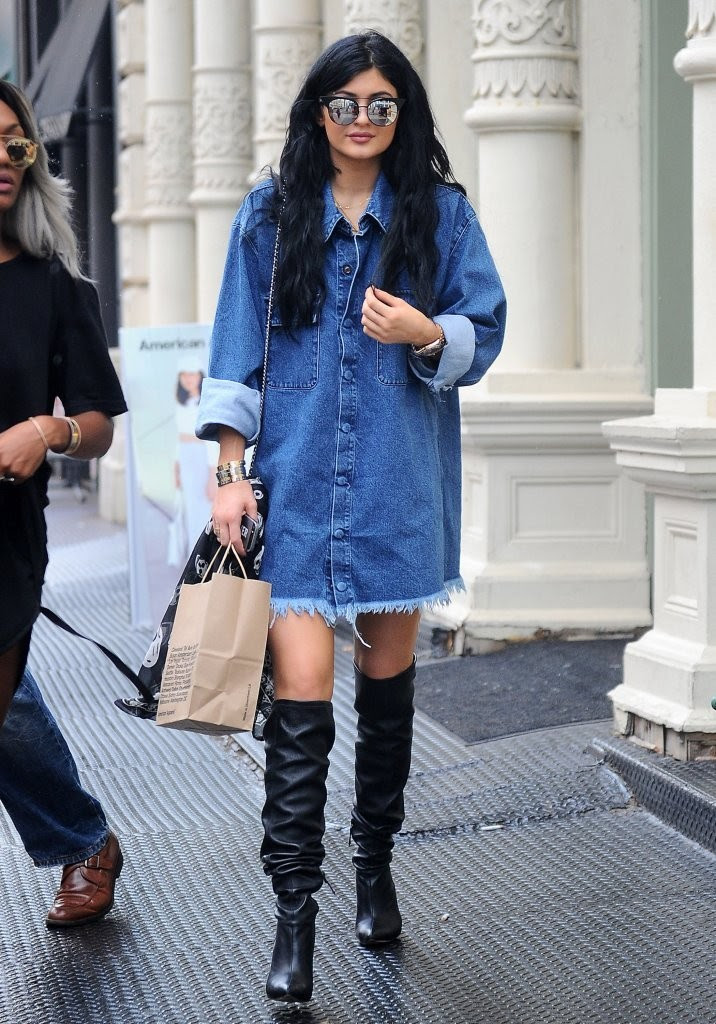 new york city 2014  the style evolution of kylie jenner