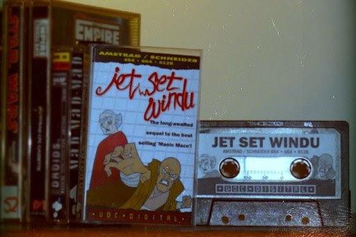 Jet Set Windu for the Amstrad CPC464