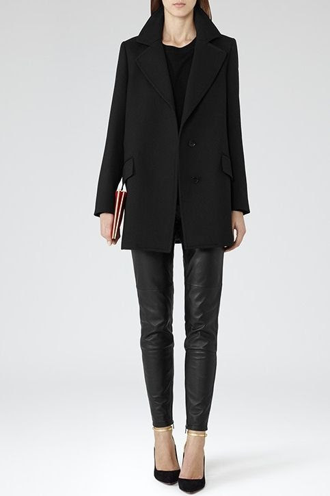 REISS Naples Relaxed Fit Coat