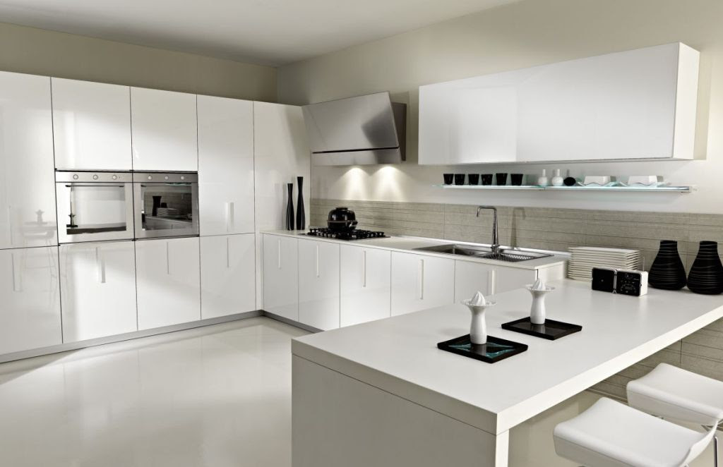 Houzz White Kitchen Cabinets Home Furniture Design