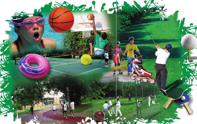 Sports facilities at Teerth Towers Baner Sus