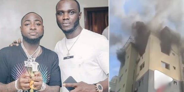 Davido's Road Manager, Obama Loses Apartment To Fire
