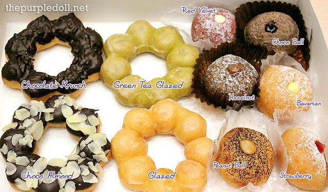 Gavino's Donuts Pon de Ring and Pon de Ball