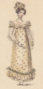 1817 Regency Gown
