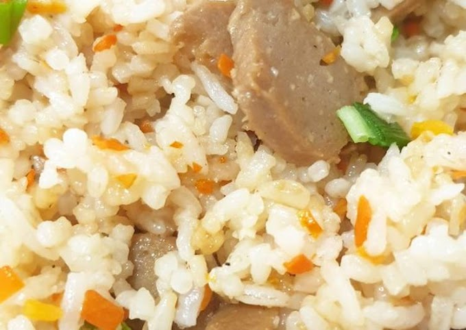 Cara Mudah Memasak Nasi Goreng Putih Yang Enak