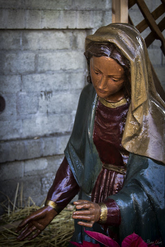 OLPH nativity scene Mary