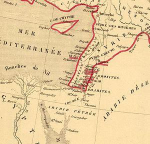 Français : Carte de l'Empire des Perses. Pour ...