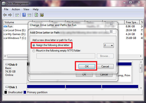 Hide or Show Hard Disk Partitions Without Any Software