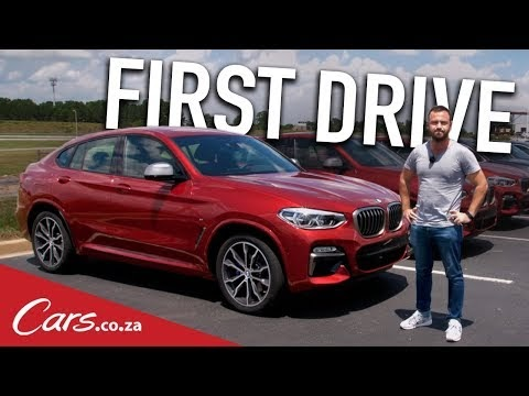 BMW X4 video update