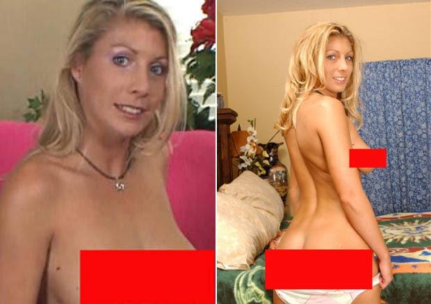 Stacie Halas, de 31 anos, trabalha há seis anos como atriz pornô. (Foto: Reprodução)