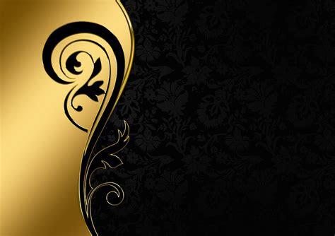 background warna hitam emas