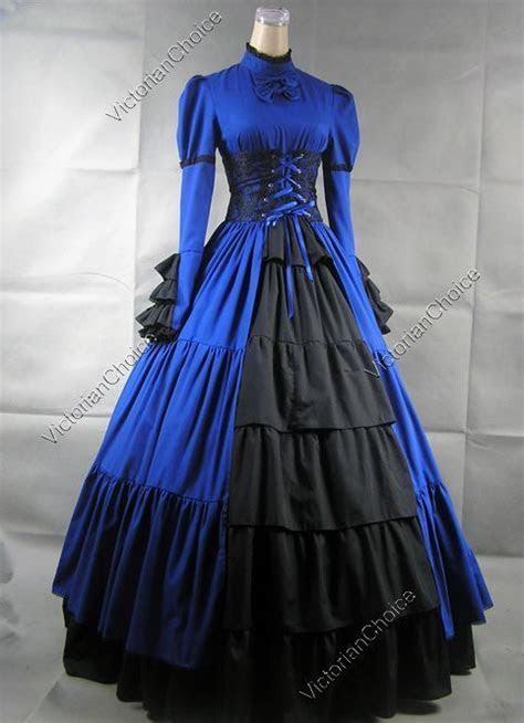 victorian gothic corset dress gown steampunk reenactment