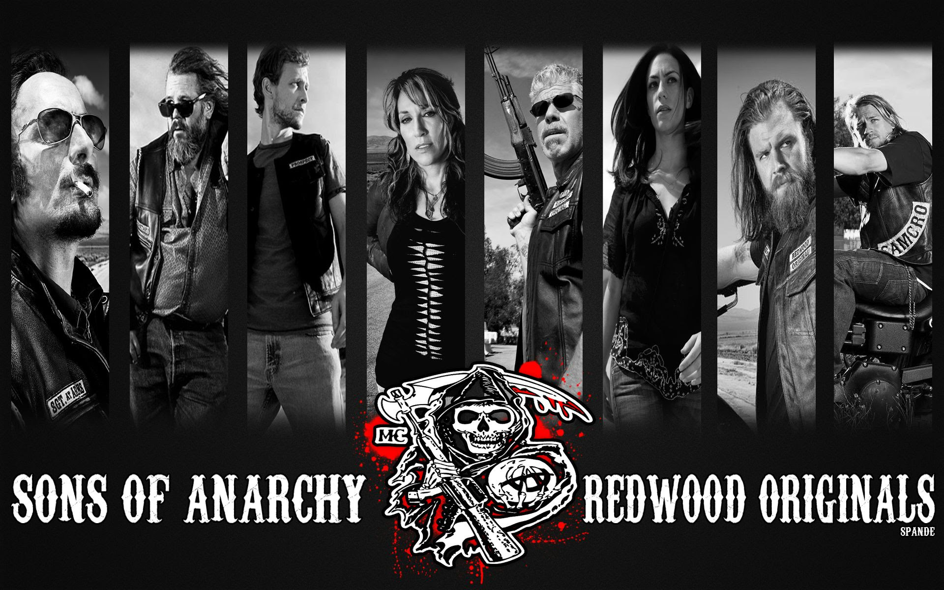 I Made A Sons Of Anarchy Wallpaper Enjoy 1920x1200 Wallpaper
