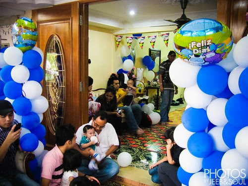Ryan Iszkandar 1yo Birthday Party
