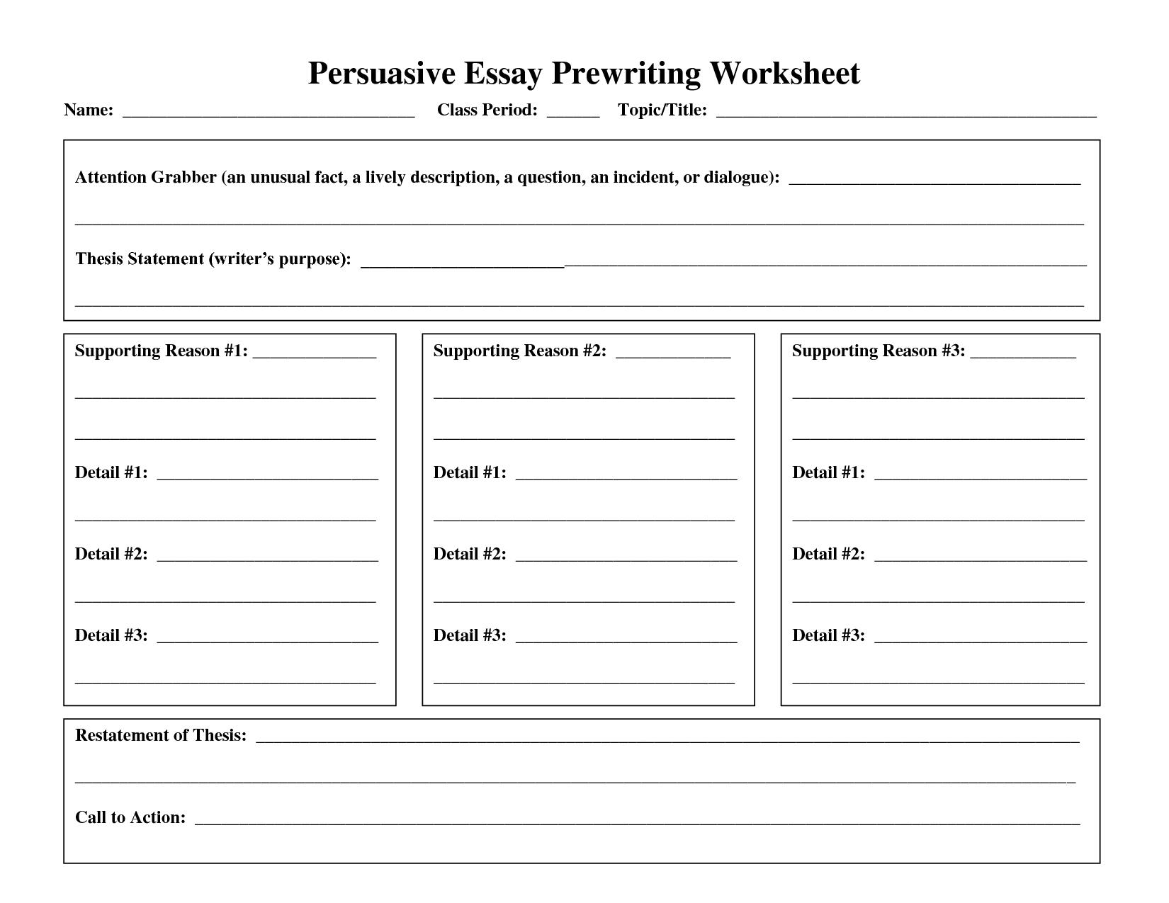 how to write a grad school essay worksheet