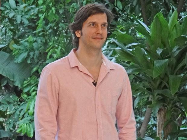 Marido de Adriana Esteves, Vladimir Brichta admite ficar surpreso com assédio (Foto: Mais Você / TV Globo)
