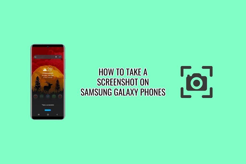 XDA Basics: How to take a Screenshot on Samsung Galaxy Phones