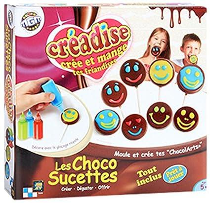 Mgm - 012408 - Kit De Loisirs Créatifs - Creadise - Boîte Choco Sucettes