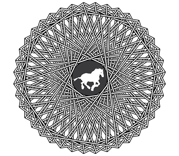 66 Coloring Pages For Adults Of Horses Download Free Images