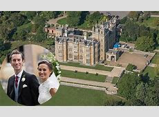 Inside the wedding reception of Pippa Middleton and James Matthew at Englefield House