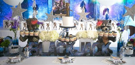 "Kara's Party Ideas ""Guardians of the Galaxy"" Birthday"