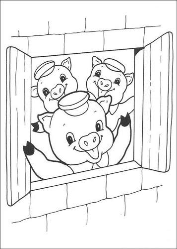 Disegni I Tre Porcellini Maestrasabry