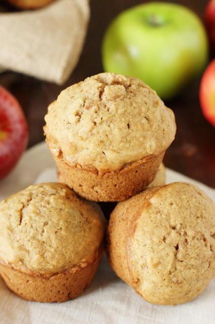 Family Favorite Applesauce Muffins