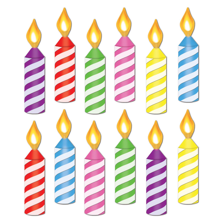 Candles Art Cake Clip No Birthday